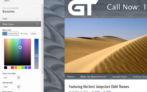 GT Theme Customizer Preview