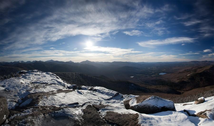 From the summit of Cascade Mountain, Adirondaks [2048×1209][OC]