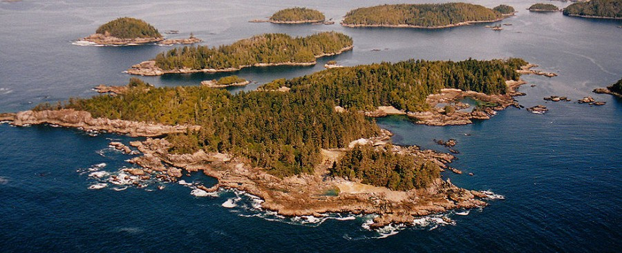 Ucluelet, Broken Islands, Vancouver Island, BC, Canada. [980X400] [OS]