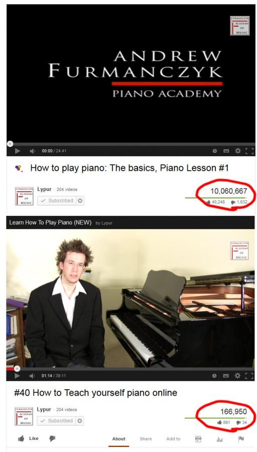 Lesson #01 vs Lesson #40