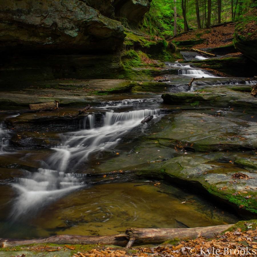 [OC] Old Man's Cave, Hocking Hills, Ohio [3264X3264]