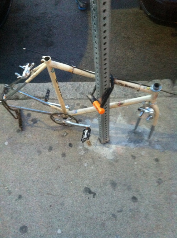 Nice bike lock bro