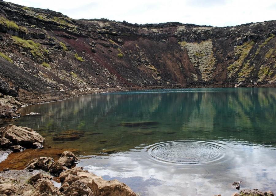 Kerið's caldera near Grímsnes, Iceland [3570 X 2550]