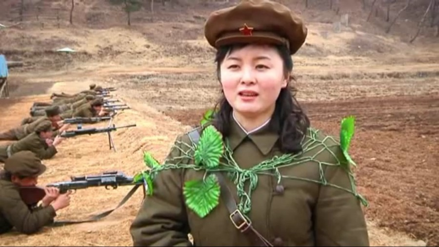 North Korea has the best camo.