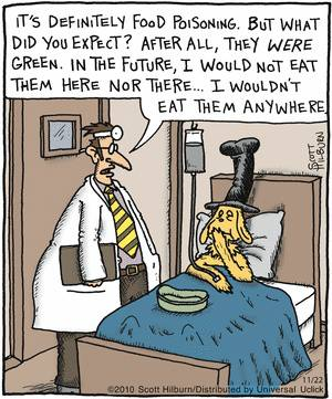 Stay away from Green Eggs and Ham..