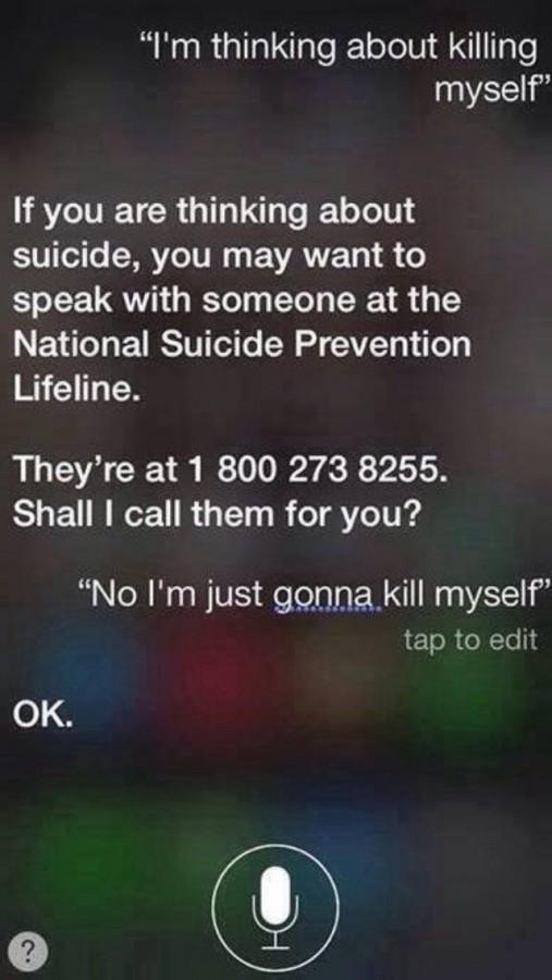 Persistent Siri