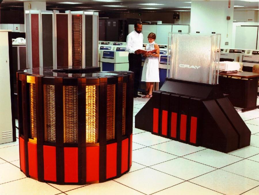 Man, this supercomputer is cray.