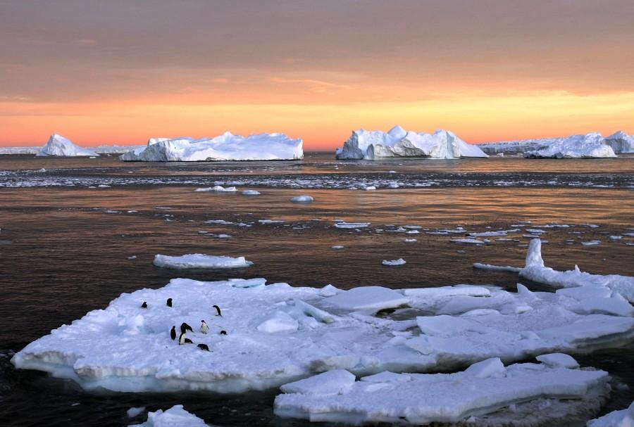 Ice Drift, Antartica [3000×2025]