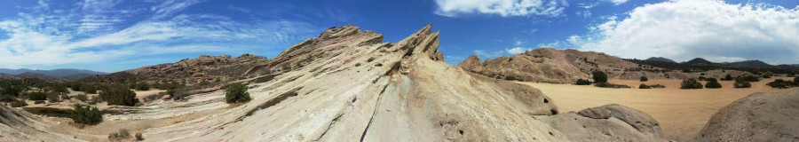 Vasquez Rocks, Los Angeles, CA – Panorama [7632 × 1360]