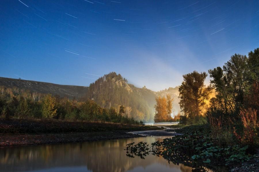 Long exposure photo of Muradym valley, Russia. [OC] [1170×780]