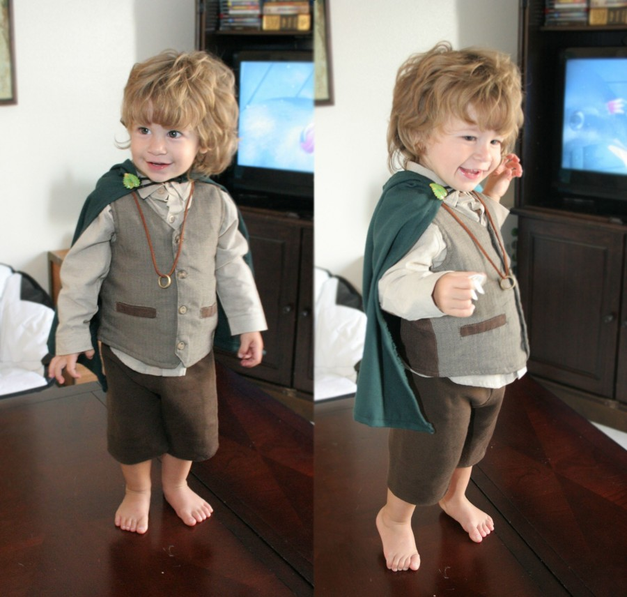 The cutest Hobbit in the Shire.