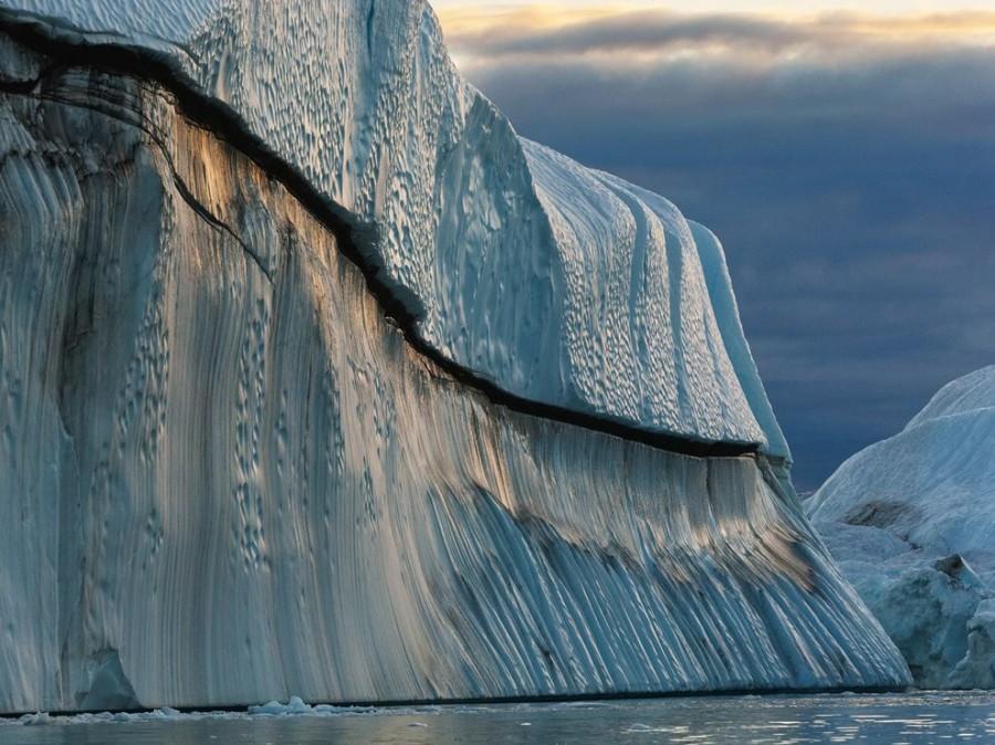 Iceberg, Greenland [990×742] @James Balog