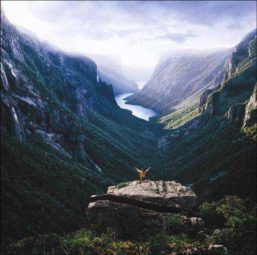 Long range traverse, Western Newfoundland [504×501]