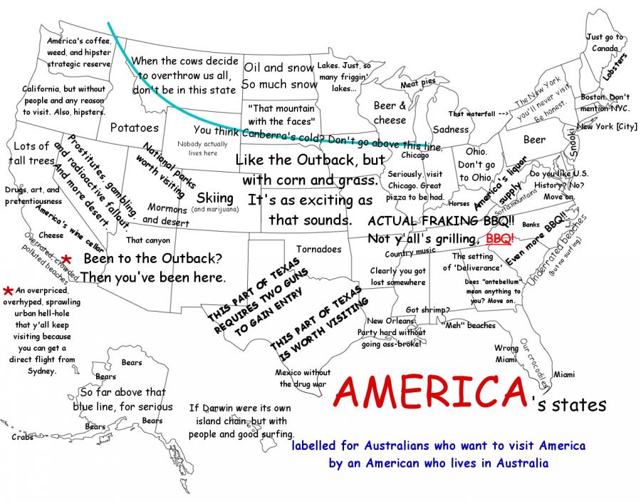 America for Australians by an American in Australia