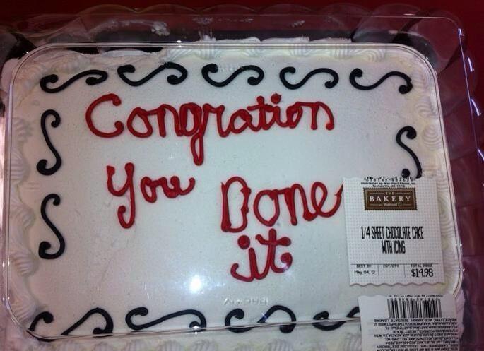 Those Walmart bakery workers..