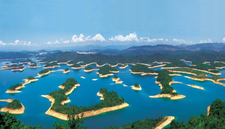 Thousand Islands Lake, China [1338×768]