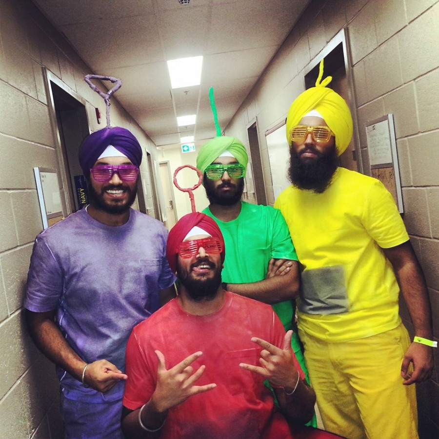 The teleturbans.