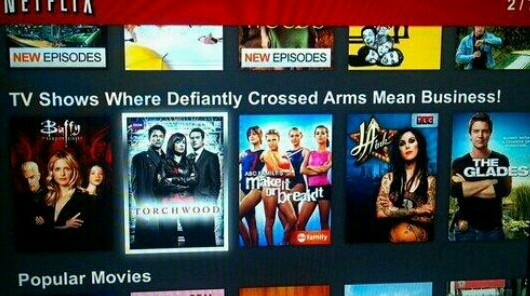 So glad Netflix recommended this category.