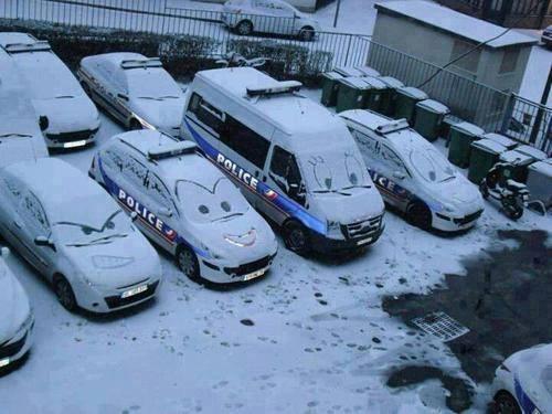 Pixar Police Cars