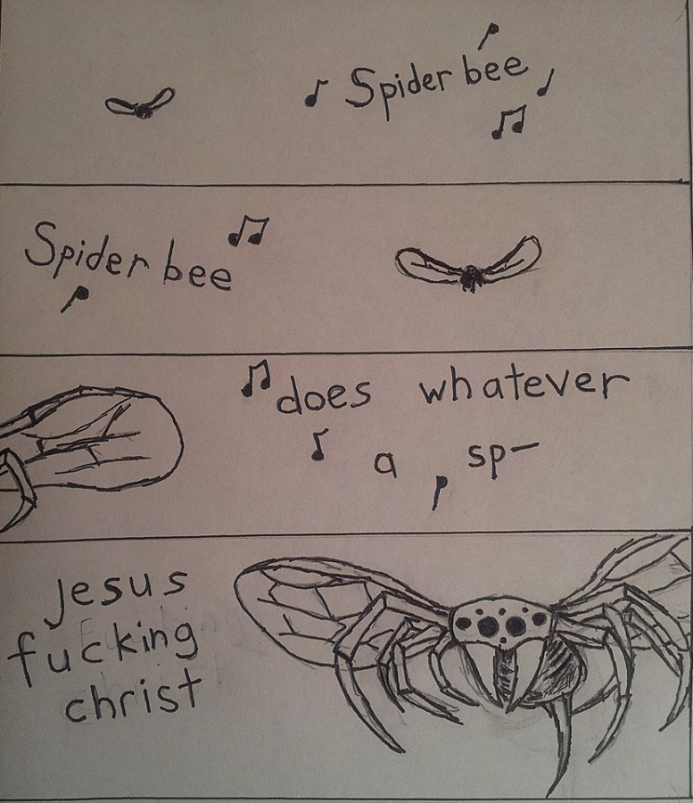 The Spectacular Spiderbee