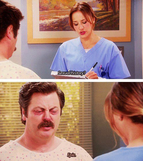Ron Swanson is the man!