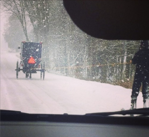 How the Amish roll here in Canada