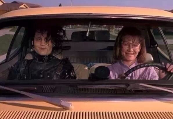 Mom's driving their kids to Warped Tour