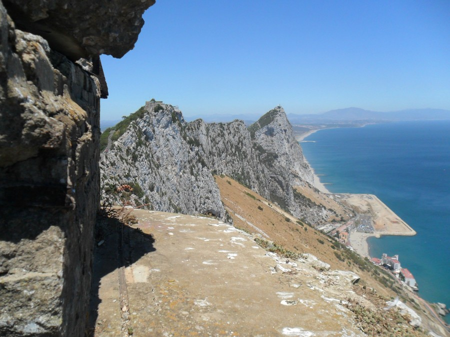 Rock of Gibraltar – A trip from a couple summers ago [3000×2250] [OC]