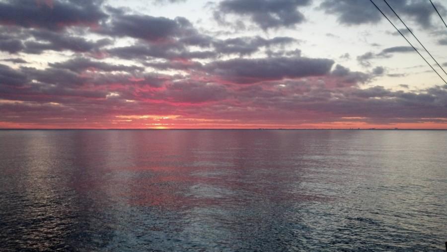 Virginia Beach coast, my last underway on my ship [2048×1232]
