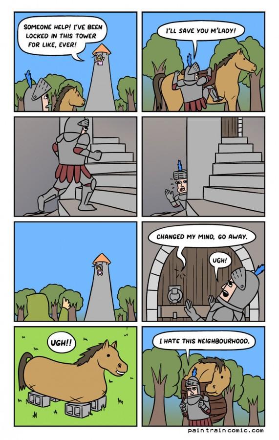 The Wrong Neighbourhood