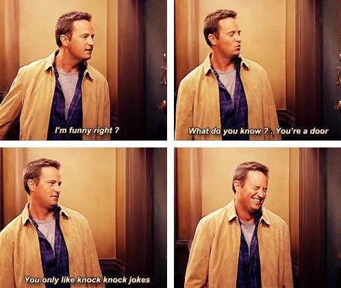 Oh, Chandler…