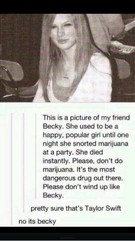 No it's Becky