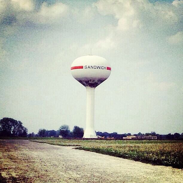 You're not fooling anyone, water tower