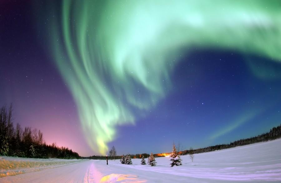 The aurora borealis – Kiruna, Sweden [3008×1960]
