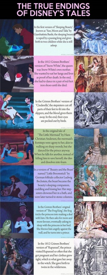 True endings of Disney's Tales