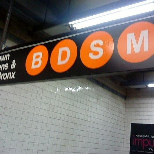 Sorry I'm late, I got tied up on the subway…