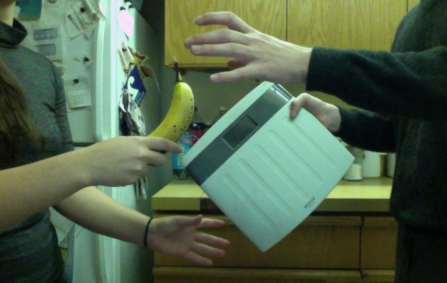 A late-night karma exchange (Banana for scale)