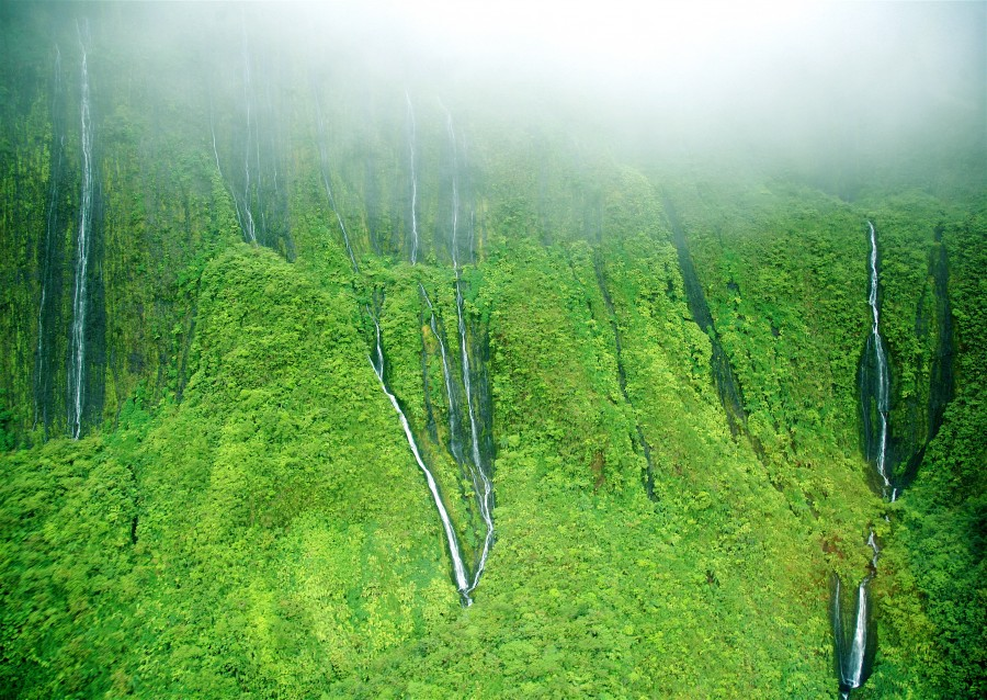 Wall of Tears in Puu Kukui – Maui [4105×2912]