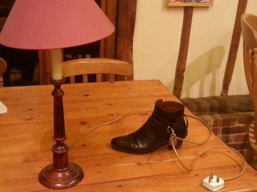 Had a house party last night, still can't find the key to my mums shoe..
