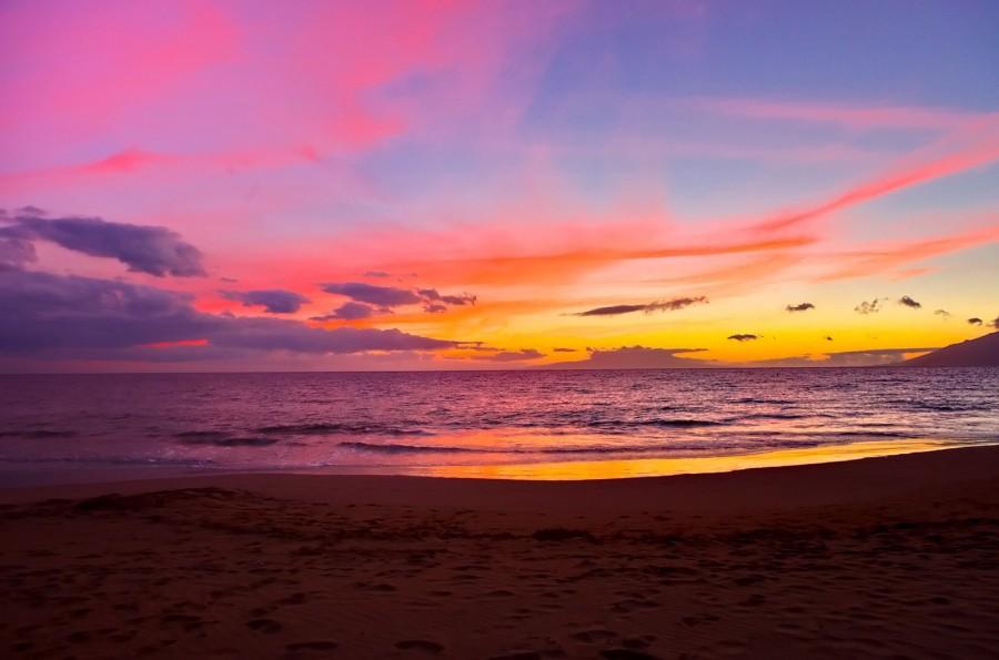 Maui Sunset [OC] [1600 x 1059]