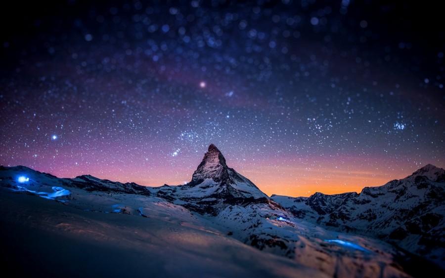 Matterhorn at night [2560×1600]