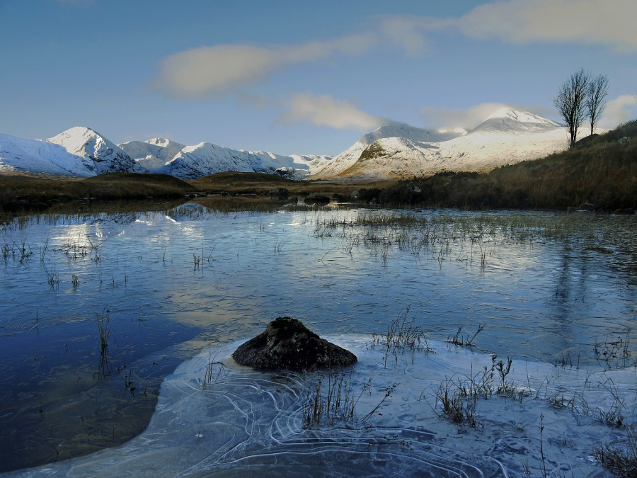 Thin Ice, Rannoch Moor, Scotland [2048×1536] photo by Kenneth Barker