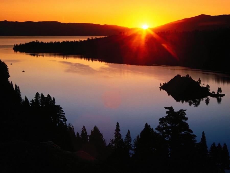 Emerald Bay, Lake Tahoe, CA [1600×1200]