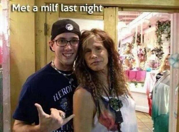 Met a milf