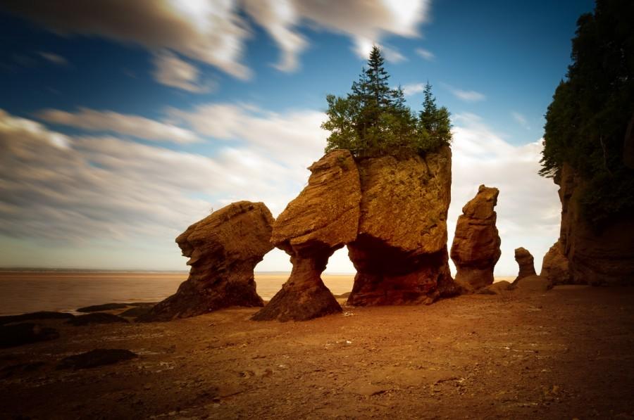 The Hopewell Rocks. New Brunswick, Canada [1170×777].