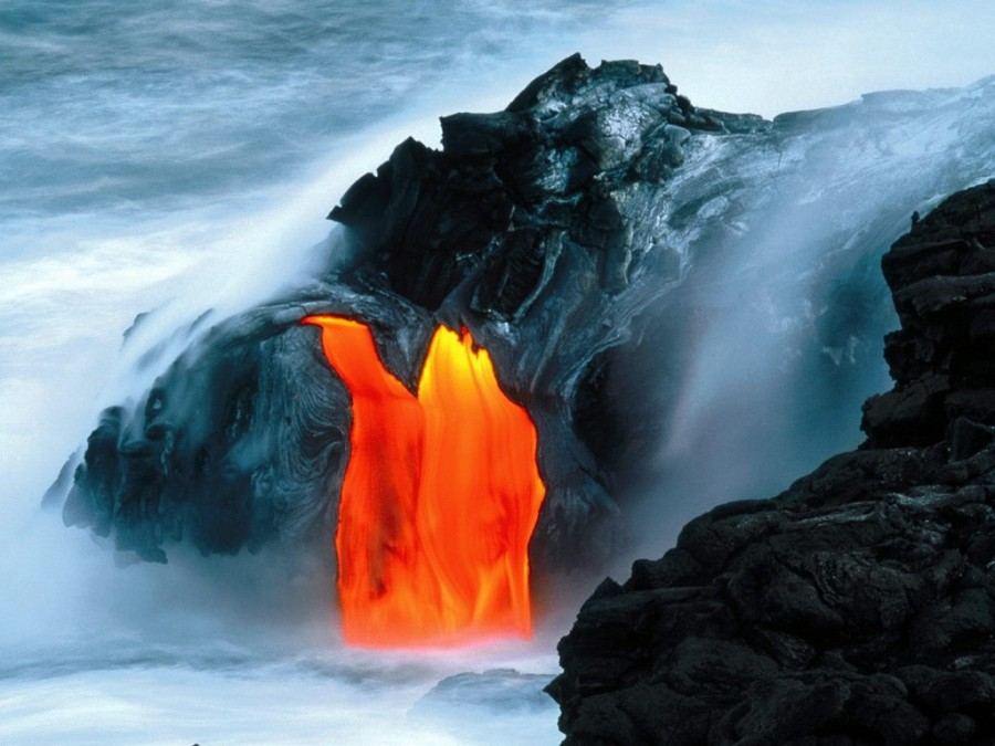 Beautiful Lava Flow from Kilauea (1024 x 768)