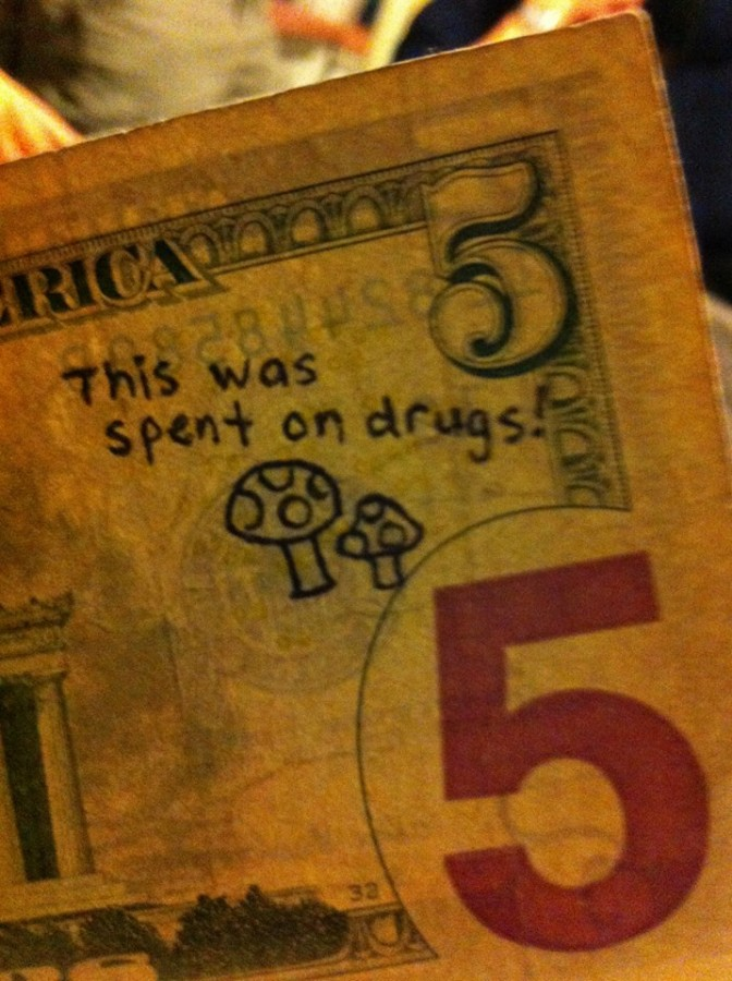 Looks like someone else had more fun with this money than I did…