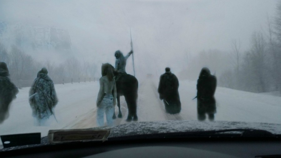 Wife asked me how my drive into work was this morning… I sent her this
