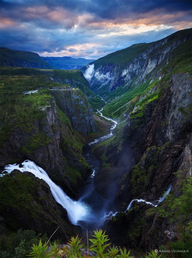 Vøringfossen, Norway [1491 x 2000]