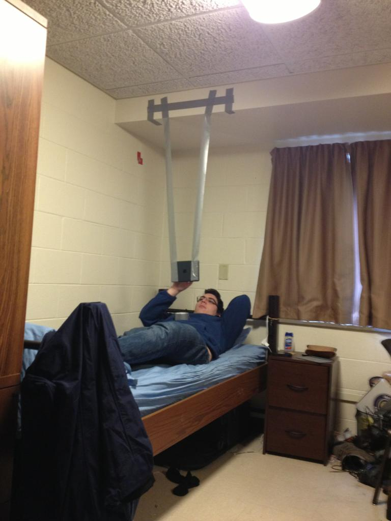 My roommate